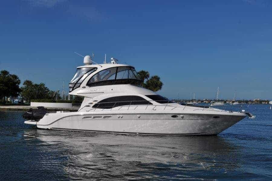 2013 sea ray 52 sedan bridge yacht for sale