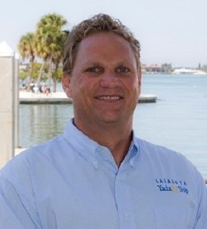 Alex Rowe, yacht broker with sys yacht sales