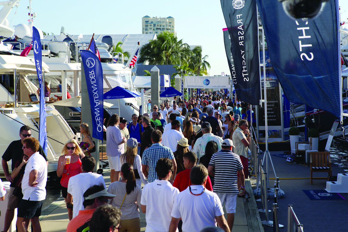 International Yacht Shows to sell your yacht or boat