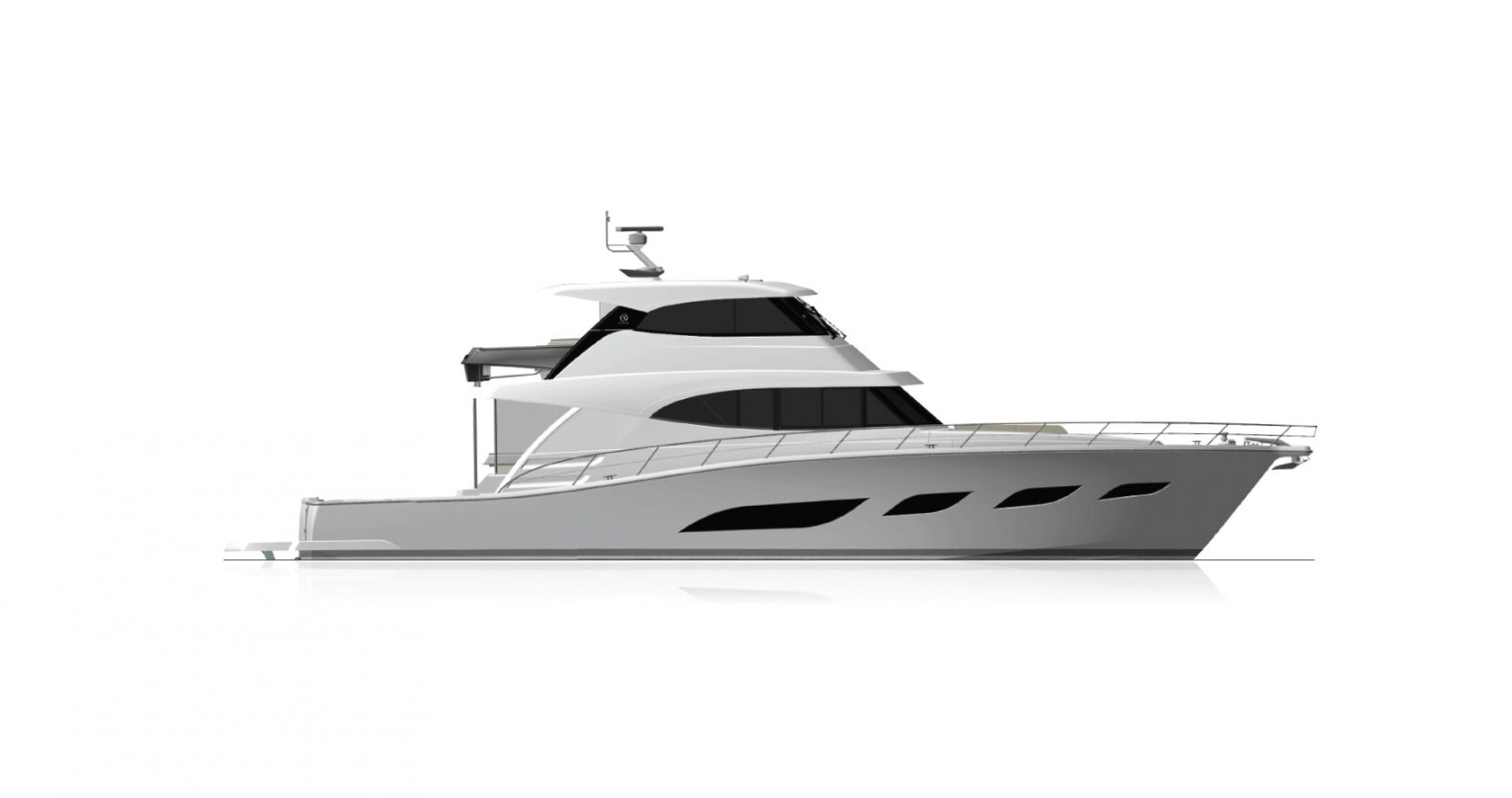 Riviera 72 Sports Motor Yacht for sale - Profile