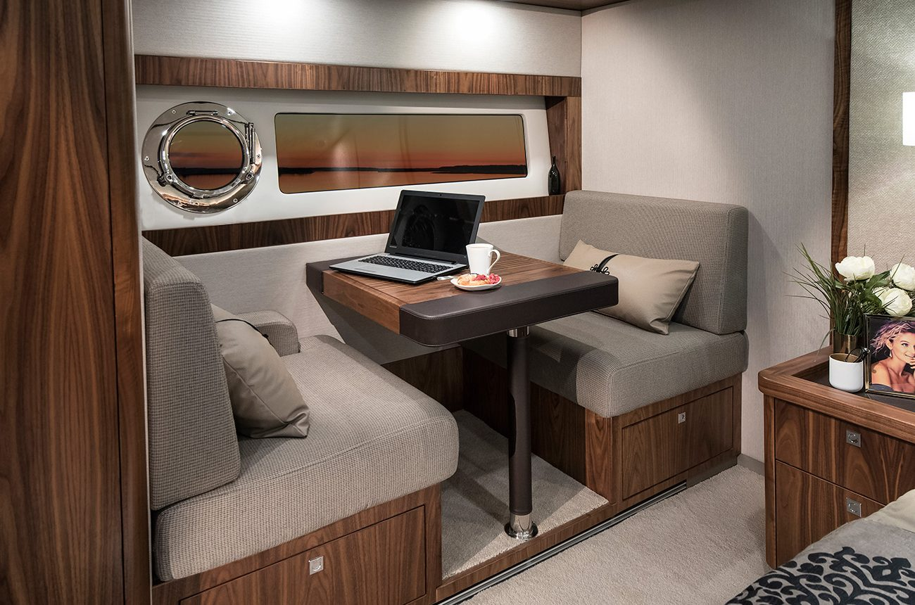 Riviera 72 Sports Motor Yacht for sale - owners office area