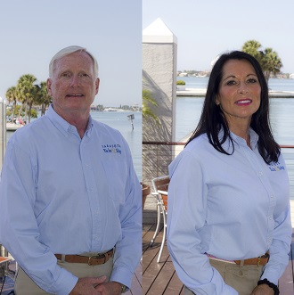 Lynn and Jackie Millikin, Yacht Brokers, SYS Yacht Sales