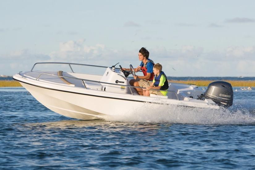 Edgewater 158CS for sale - running