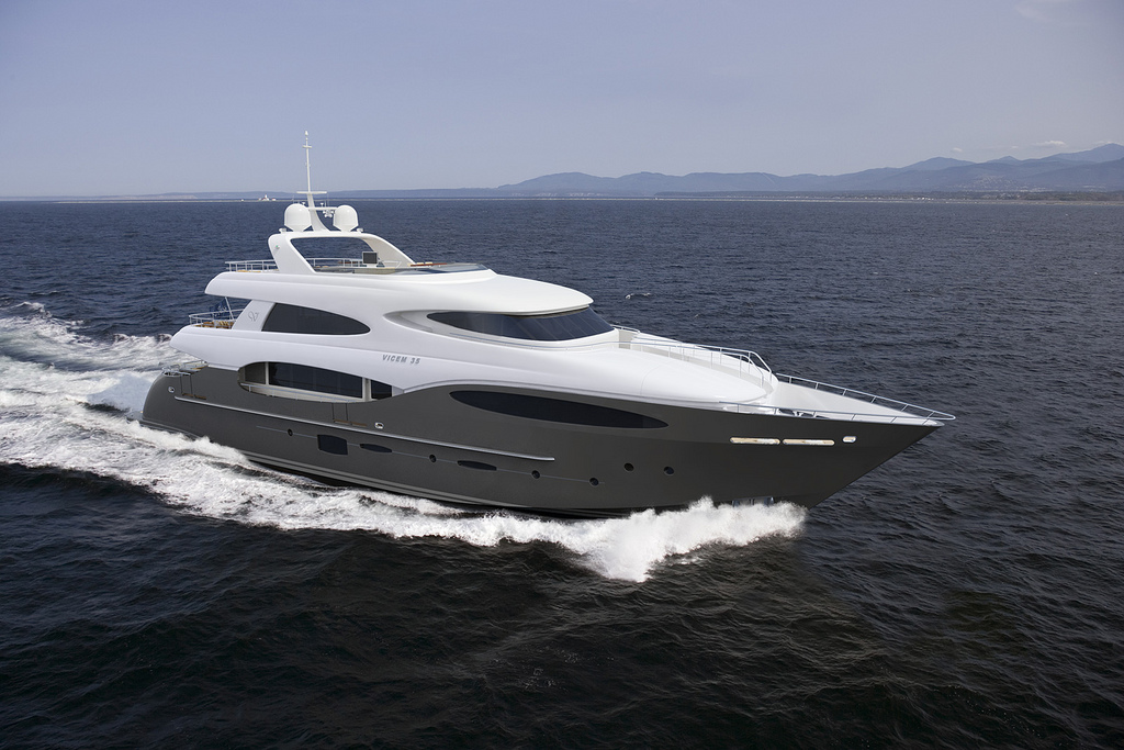 Vicem 119 Tri Deck Yacht for Sale - Learn more!