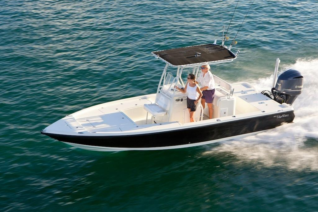 Edgewater 140IS for sale - running