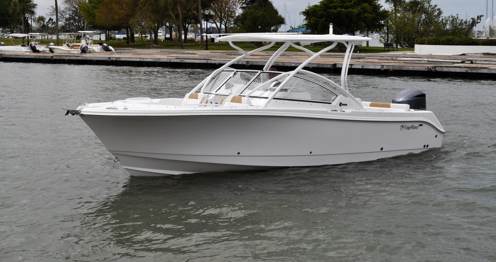 Edgewater 248CX for sale - Profile