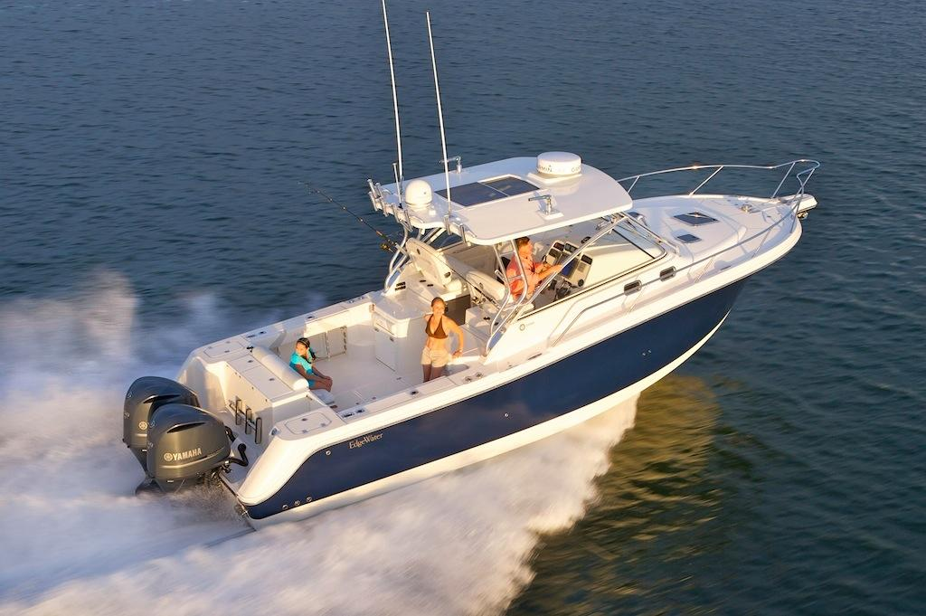 Edgewater 335EX for sale - running