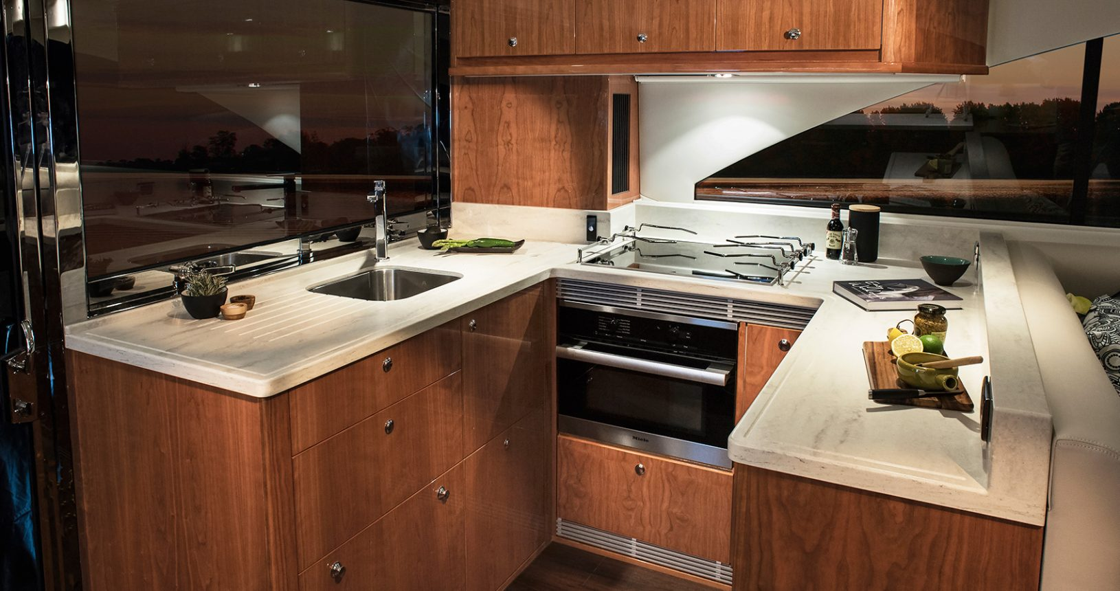 Riviera 575 SUV for Sale - Galley