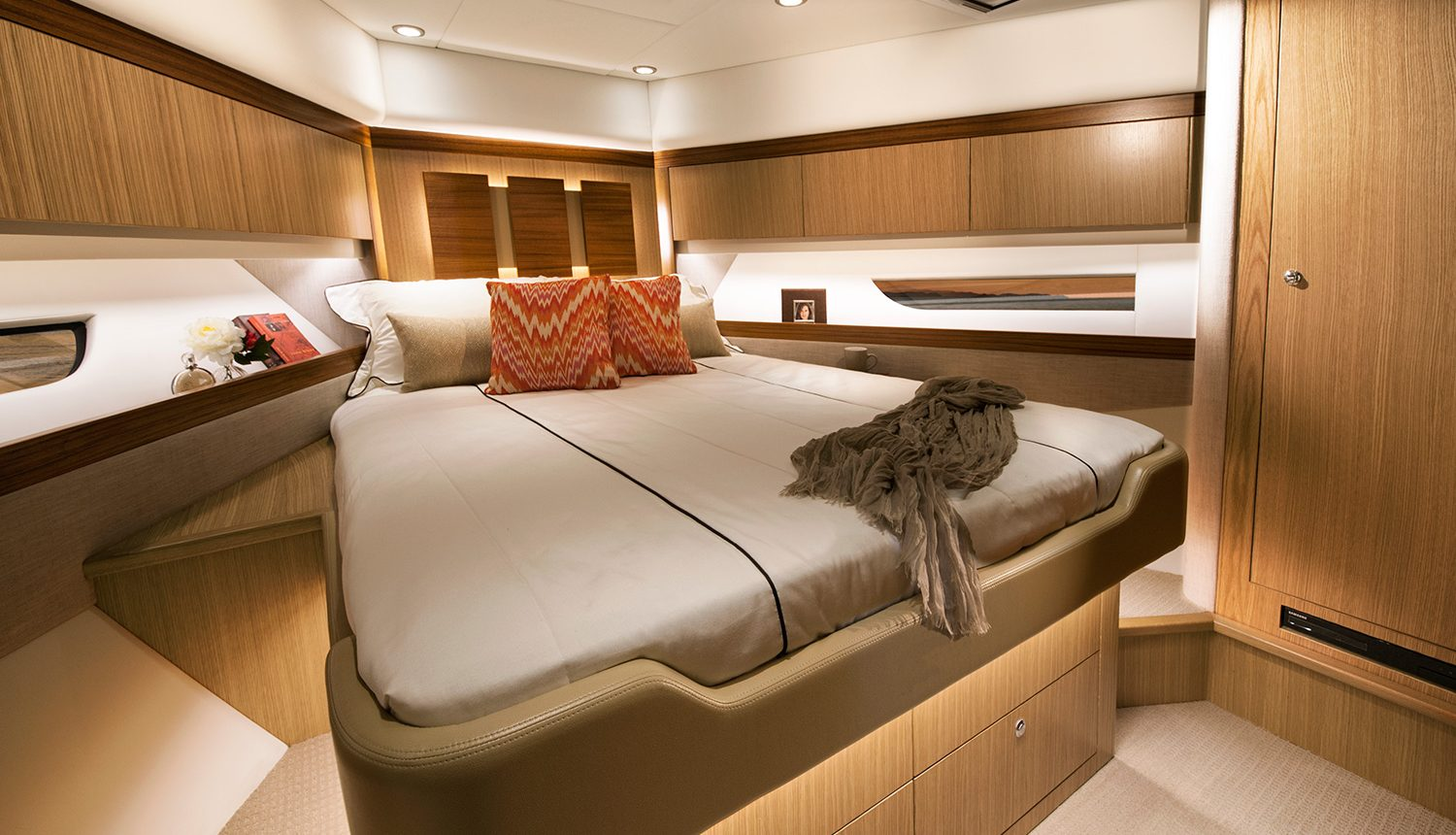 Riviera 575 SUV for Sale - Forward VIP Stateroom
