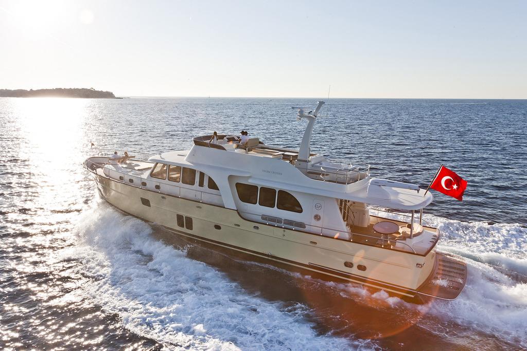 Vicem 82 Cruiser - running