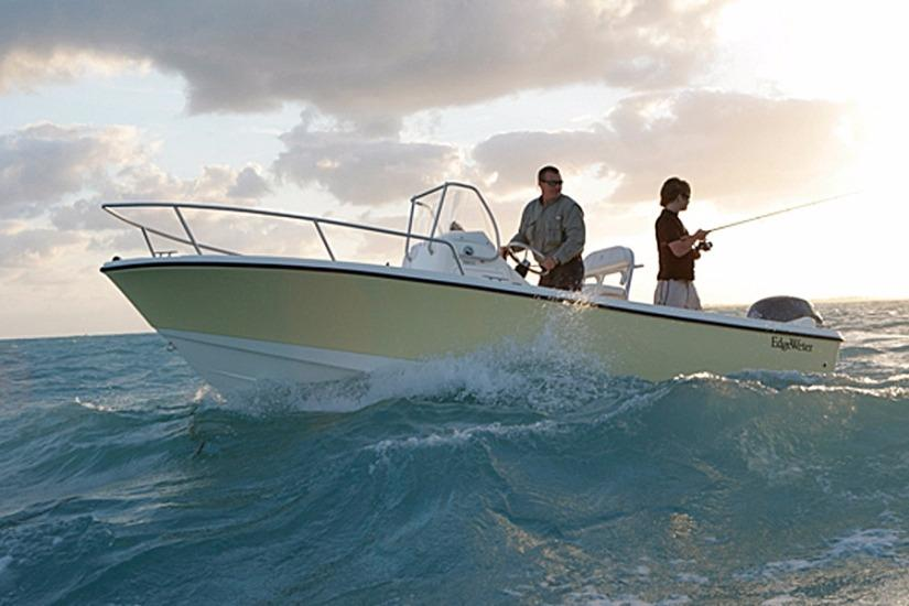 Edgewater 188CC for sale - fishing center console boat