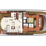Vicem 119 Tri Deck Layout - Salon
