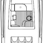 edgewater 368 center console layout