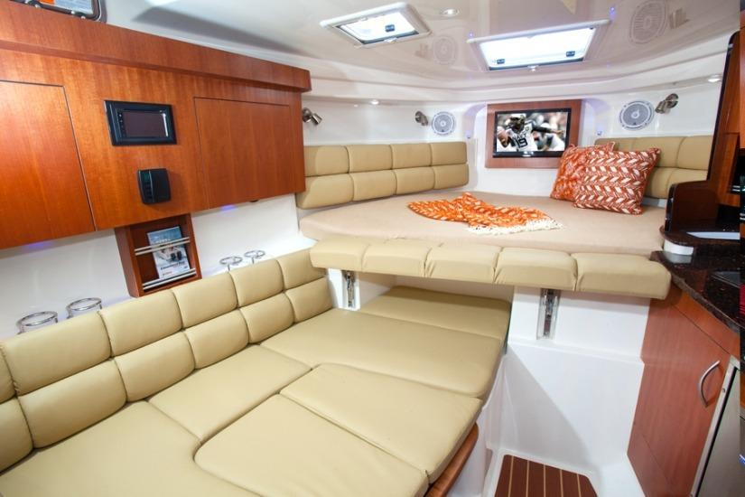 Edgewater 335EX for sale - cabin