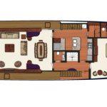 Vicem 119 Tri Deck Layout