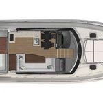 Riviera 4800 Sport Yacht - Salon