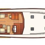 Vicem 71 Classic flybridge - main deck