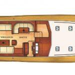 Vicem 77 Classic for sale - main deck