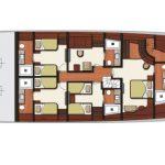 Vicem 119 Tri Deck Layout - Lower Level