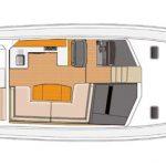 Riviera 43 Open Flybridge - Optional Lower Helm