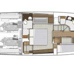 Riviera 57 Enclosed Flybridge - Optional Accommodation