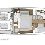 Riviera 57 Enclosed Flybridge - Standard Accommodation