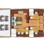 Vicem 71 Classic flybridge - 3 cabin master option