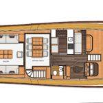 82 Vicem Cruiser for sale - main deck