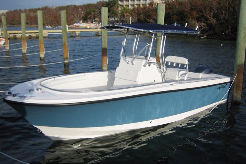 Edgewater 228cc for sale - profile