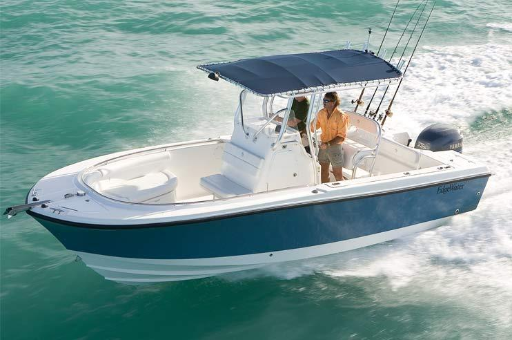 Edgewater 228CC for sale - running