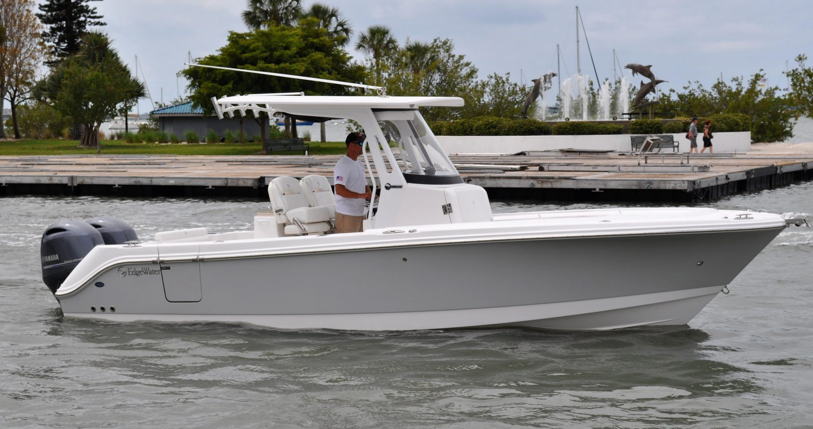 Edgewater 262CC for sale - running