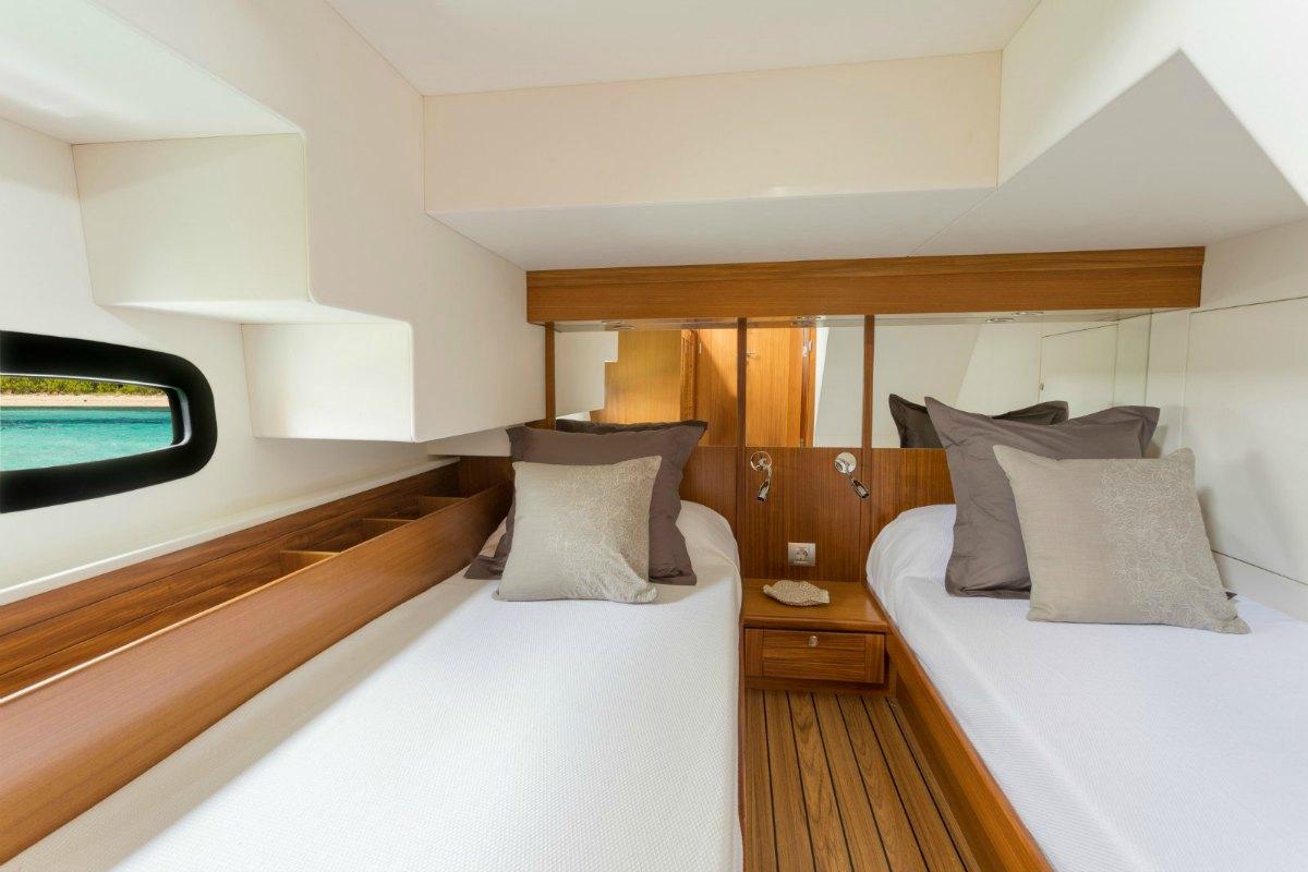 Minorca Islander 42 for sale - guest cabin