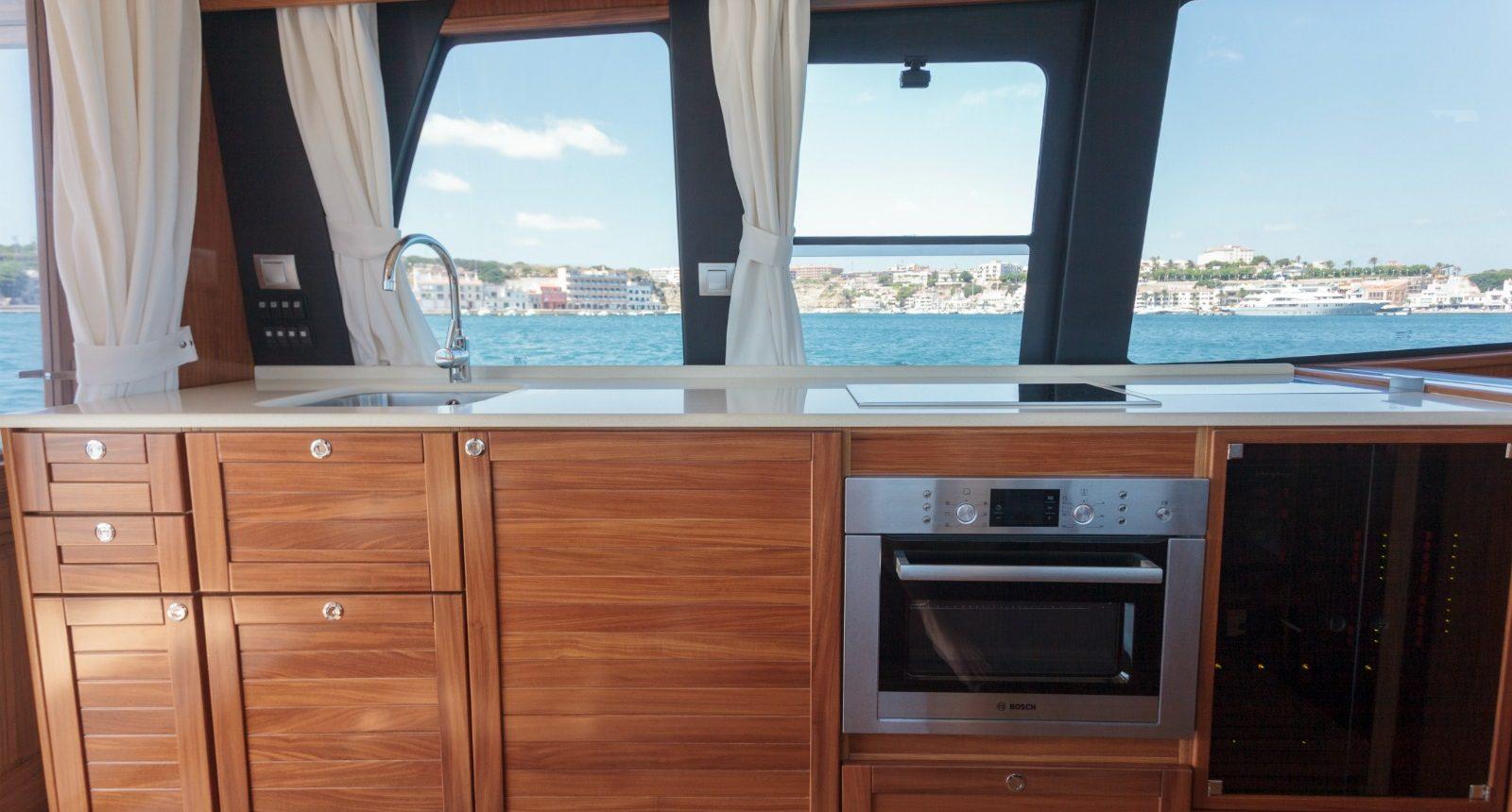 Minorca Islander 42 for sale - galley