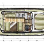 Minorca Islander 34 for sale - main layout main deck