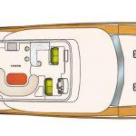 Vicem 96 Cruiser for sale - Flybridge Level