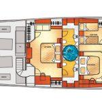 Vicem 96 Cruiser for sale - Lower Deck