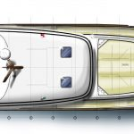Minorca Islander 42 for sale - layout