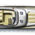 Minorca Islander 54 Flybridge layout - Flybridge level