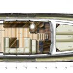 Minorca Islander 54 Flybridge for sale - main deck