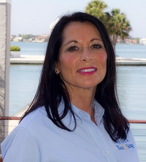 Jackie Millikin yacht broker with SYS Yacht Sales