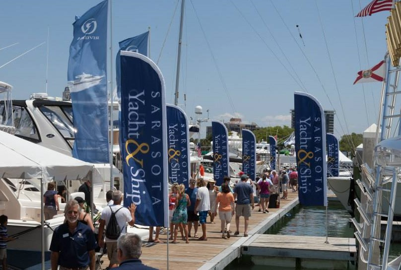Our own boat show to sell your yacht or boat, The Bayfront Boat Show