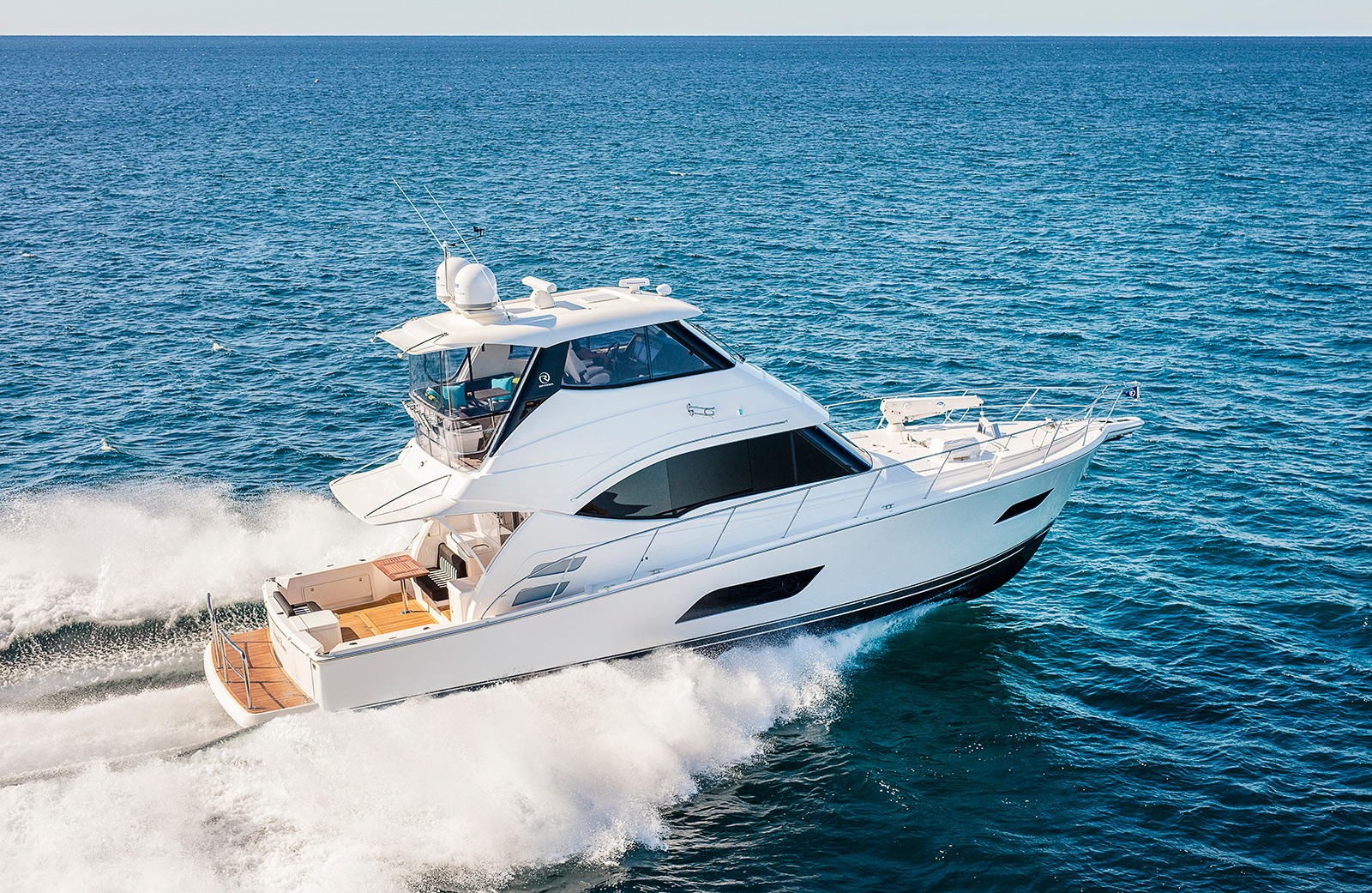 New Riviera Yachts for Sale - Enclosed Flybridge series