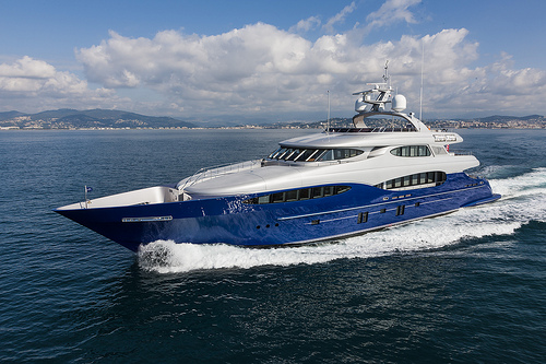 Vicem 151 tri-deck yacht for sale. Learn more!