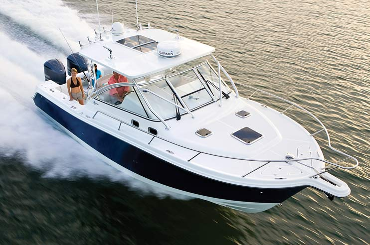 Edgewater Powerboats for sale - 335ex