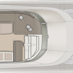 Monte Carlo MCY 76 yacht for sale - flybridge layout