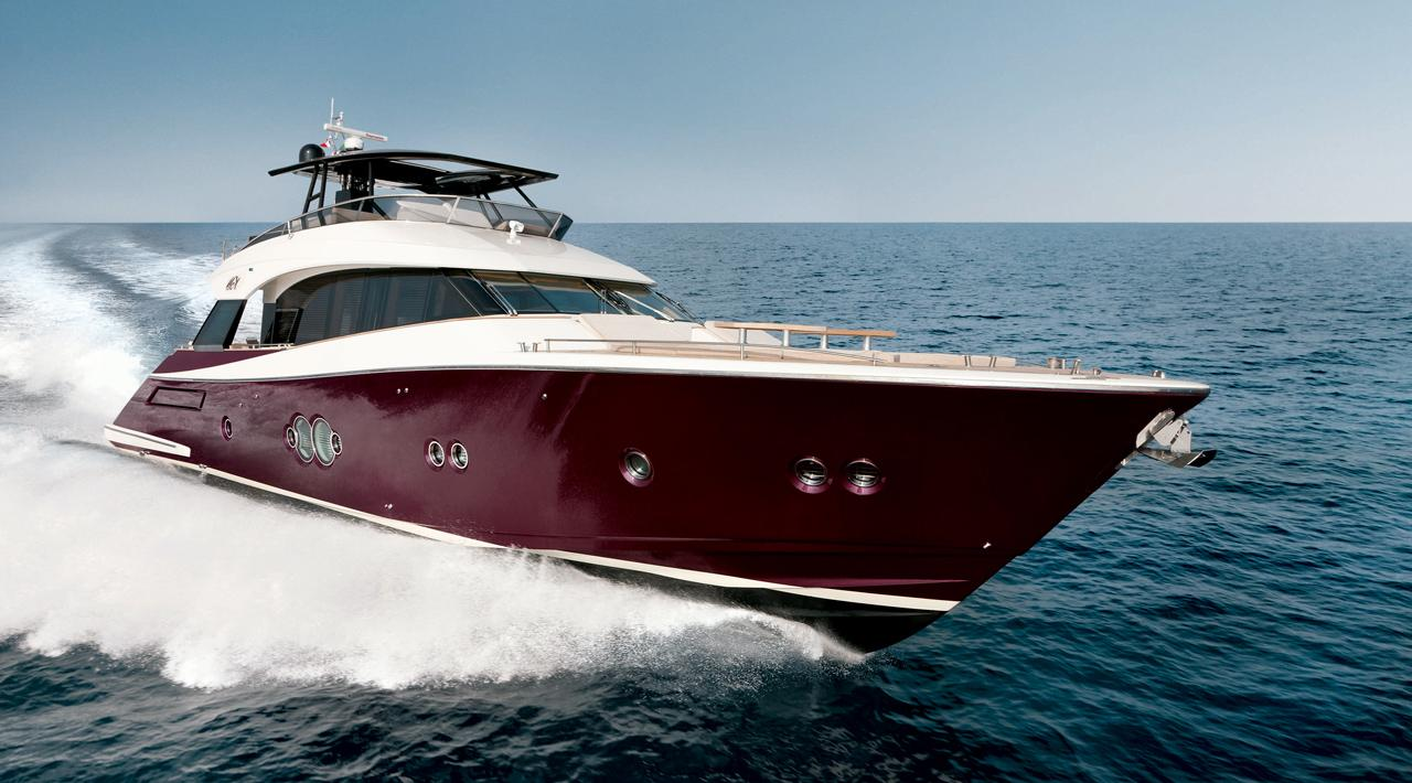 Monte Carlo MCY 76 yacht for sale - running