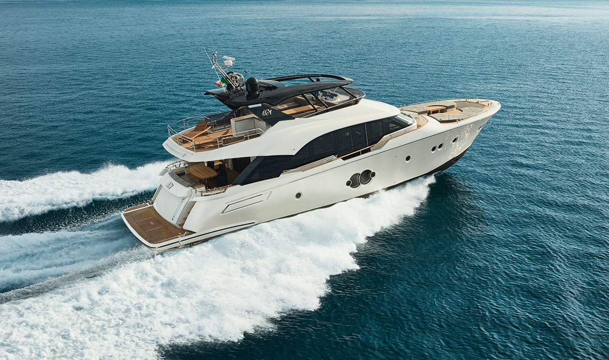 Monte Carlo MCY 80 yacht for sale - running