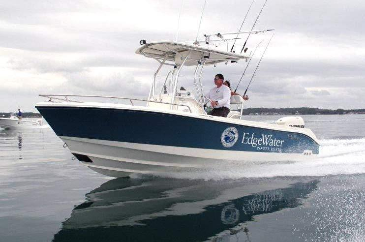 Edgewater 208CC for sale - running