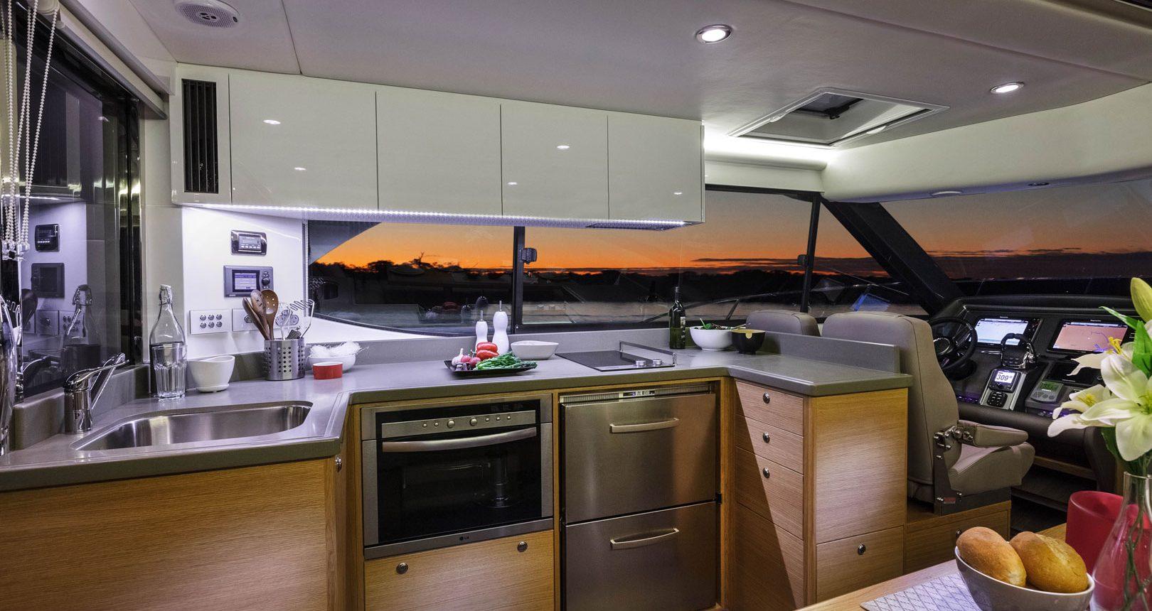 Riviera 445 SUV for sale - Galley