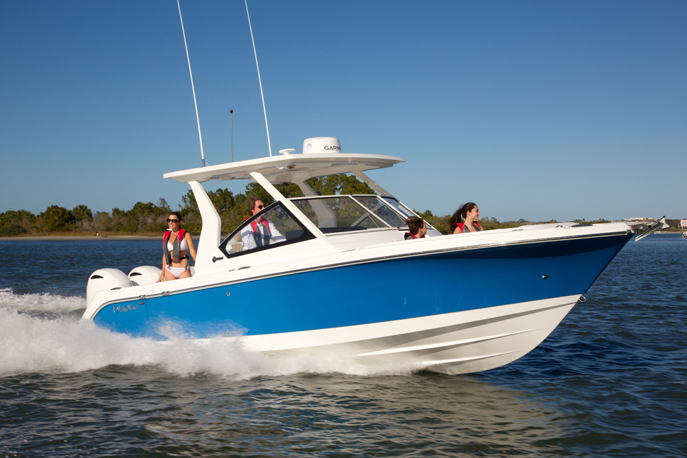 Edgewater 262CX for sale - running